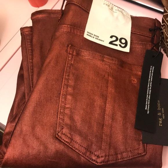 rag & bone Denim - EUC Rag & Bone High Rise Skinny Jeans